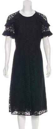 Burberry Lace Midi Dress