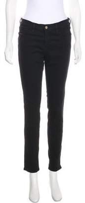 Frame Mid-Rise Skinny Pants