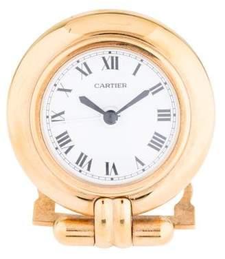 Cartier Brass Alarm Clock