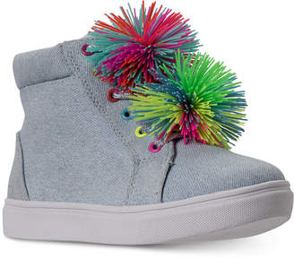 Steve Madden (スティーブ マデン) - Steve Madden Little Girls' Jbrendie High Top Sneakers from Finish Line