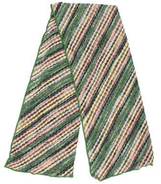 Missoni Wool-Blend Striped Scarf multicolor Wool-Blend Striped Scarf