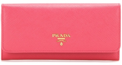 pradaPrada Saffiano Leather Wallet