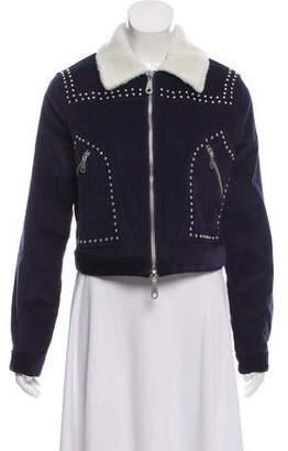 Rebecca Minkoff Embellished Corduroy Jacket