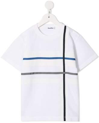 Familiar check T-shirt