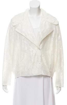 Simone Rocha Semi-Sheer Lace Jacket