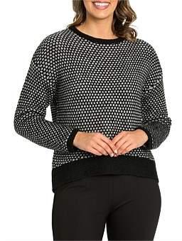 Marc O'Polo Marco Polo Long Sleeve Chunky Sweater