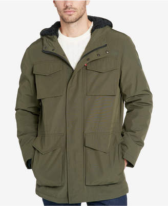 Levi's Men's Arctic Hooded Fleece-Lined Parka