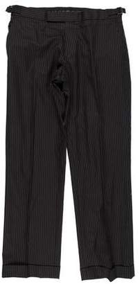 Ralph Lauren Black Label Pinstriped Dress Pants