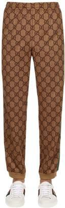 Gucci Gg Supreme Logo Printed Sweatpants