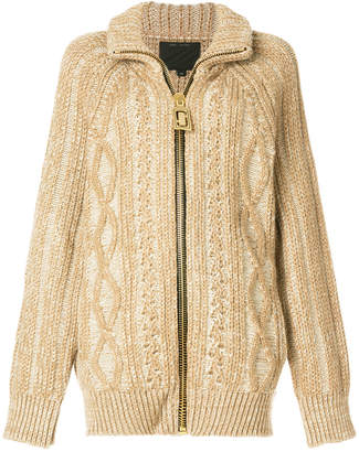 Marc Jacobs zip-up cardigan