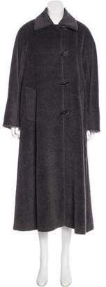 Cinzia Rocca Llama & Wool Long Coat