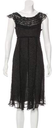 Sonia Rykiel Lace Midi Dress