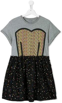 Stella McCartney TEEN polka dot dress