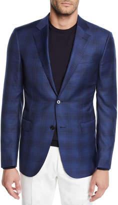 Ermenegildo Zegna Men's Plaid Sport Jacket
