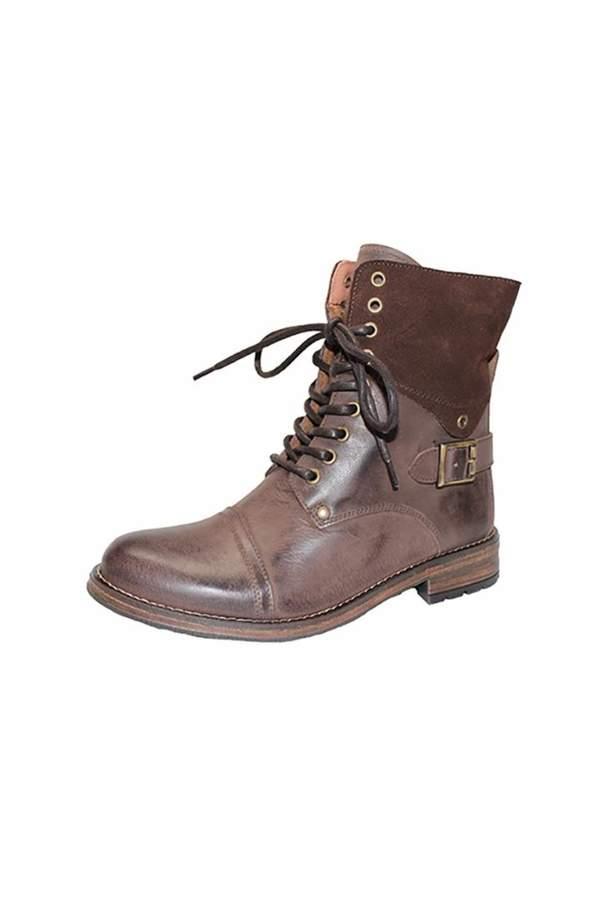 Eric Michael Juniper Combat-Inspired Boot