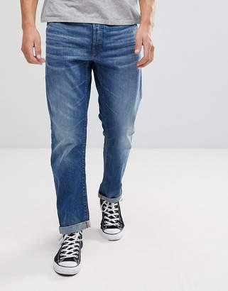 G Star G-Star Type C 3D Straight Jeans Midwash