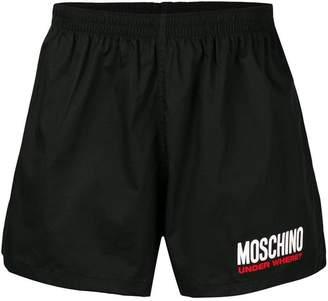 Moschino logo print boxers
