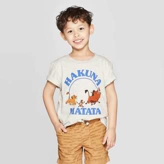 BEIGE The Lion King Toddler Boys' The Lion King Hakuna Matata Short Sleeve T-Shirt