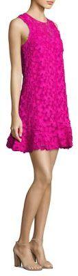 Trina Turk Lace Drop-Waist Dress