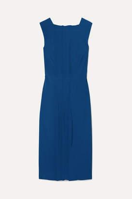 Jason Wu Collection - Pintucked Cady Dress - Cobalt blue