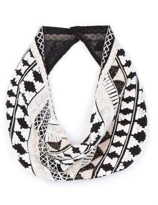Mignonne Gavigan Nonna Cotton-Silk Blend Scarf Necklace
