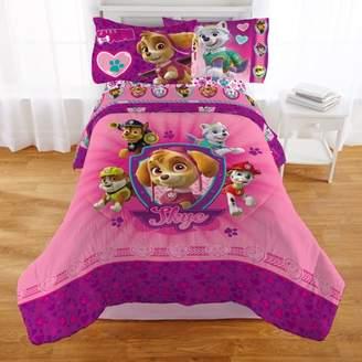 Paw Patrol Girl 'Puptacular' Kids Bedding Comforter, Twin