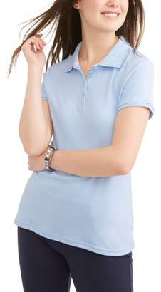Wonder Nation Juniors' Short Sleeve Polo