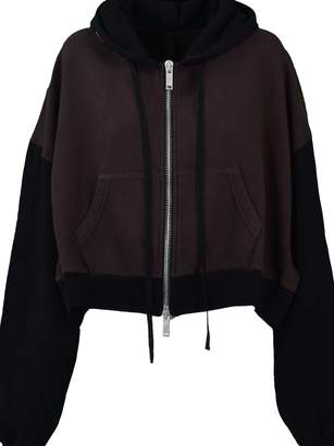 Taverniti So Ben Unravel Project Unravel Project Two-tone Hoodie