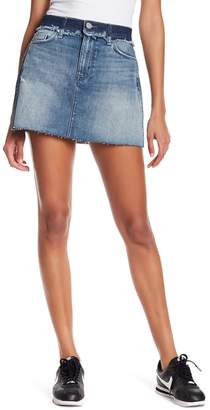 Hudson Custom Vivid Denim Skirt