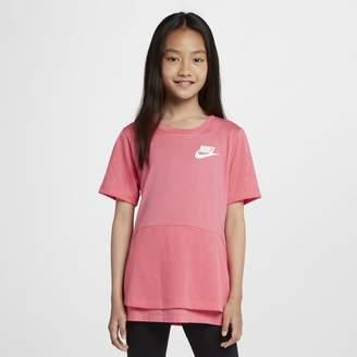 Nike Sportswear Older Kids'(Girls') Short-Sleeve Top