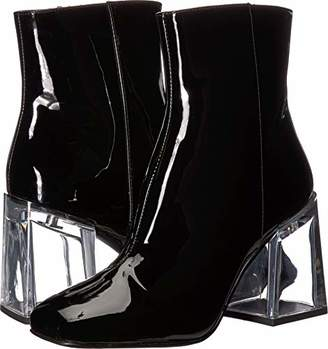 Nine West Women's APPHAPPY Synthetic Ankle Boot
