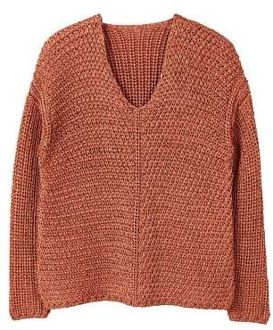 MANGO Open-knit sweater