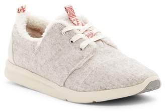 Toms Del Rey Faux Shearling Sneaker