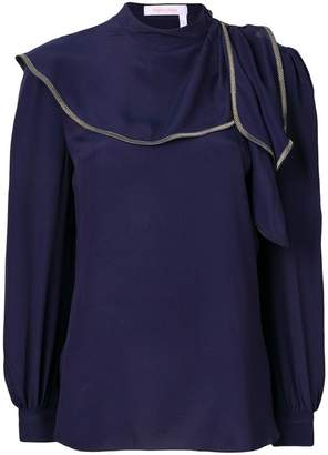 See by Chloe draped detail blouse