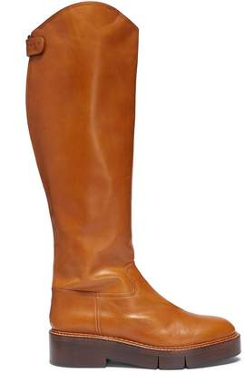 Robert Clergerie 'Canada' platform leather boots