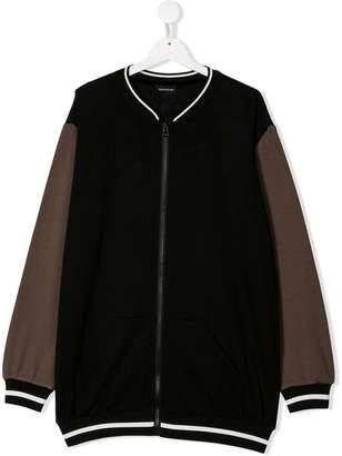 MonnaLisa zip-up sweatshirt