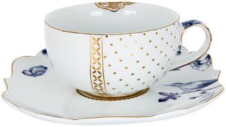 Pip Studio Royal White Teacup & Saucer