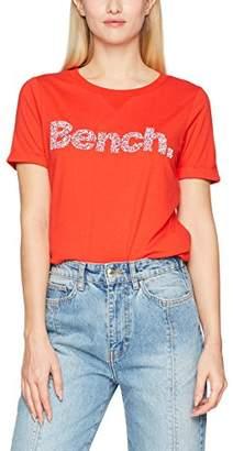 Bench Women's Core Logo T-Shirt August (Lichen Blue Bl11342)