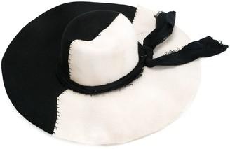 Greg Lauren wide brim hat