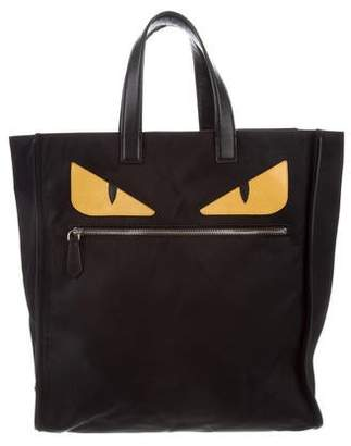 Fendi Slim Monster Tote