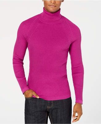 INC International Concepts I.n.c. Men's Ribbed Turtleneck Sweater, Created for Macy's
