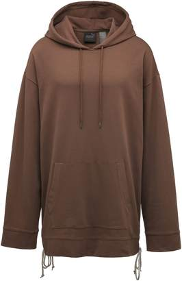 Hoodie with Side Lacing