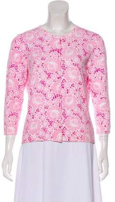 Lilly Pulitzer Printed Knit Cardigan