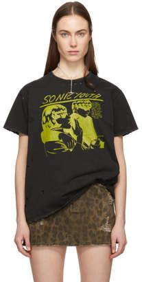 R 13 Black Sonic Youth Boy T-Shirt