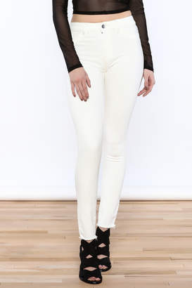 DL1961 DL 1961 White Skinny Jeans