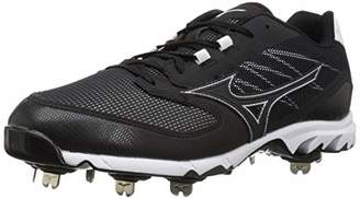 Mizuno Men's 9-Spike Dominant IC Low Metal Baseball Cleat Shoe