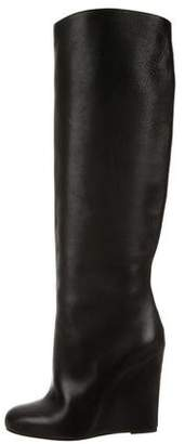 Christian Louboutin Wedge Knee-High Boots