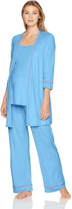 Cosabella Women's Bella Maternity 3pc Pj Set