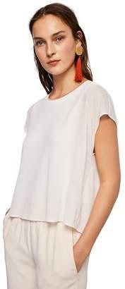 MANGO Off White 'Vinces' T-Shirt