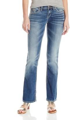 Silver Jeans Co. Women's Aiko Midrise Bootcut Jean